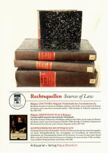 Rechtsquellen / Sources of Law